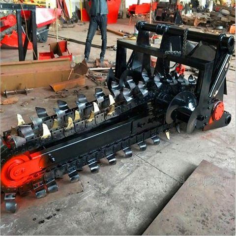 科陽移動一體式鏈式柴油直噴開溝機