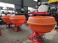 塑料桶颗粒撒肥机拖拉机后悬挂单圆盘抛肥机