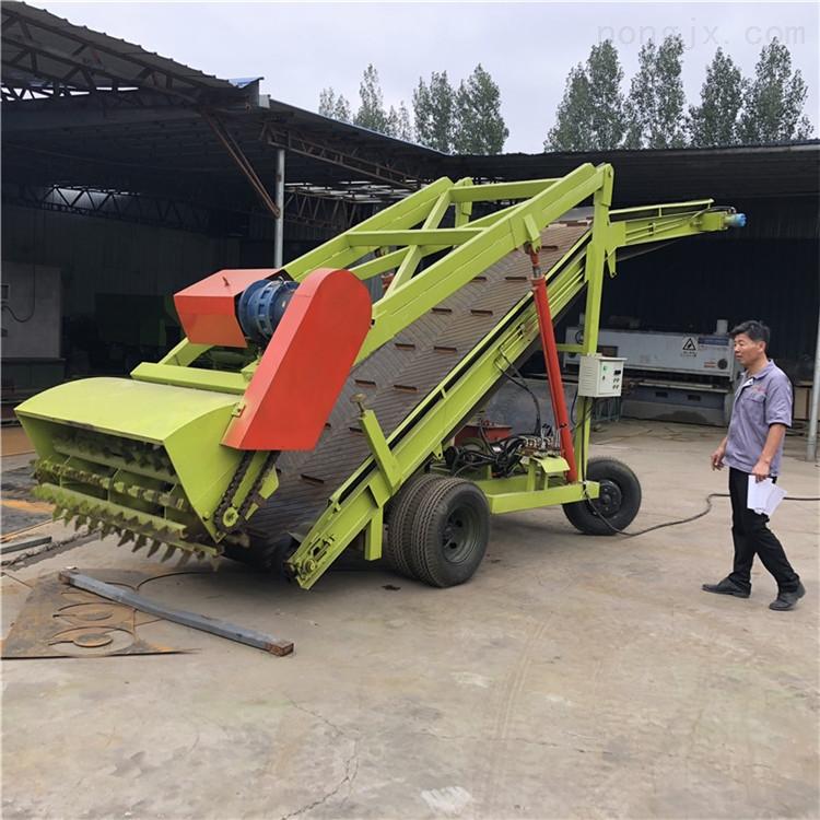 牛场扒料机 7米高空取草机