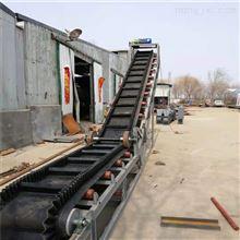 DY600大傾角加裙邊式輸送機,鋸末煤粉裝罐上料機