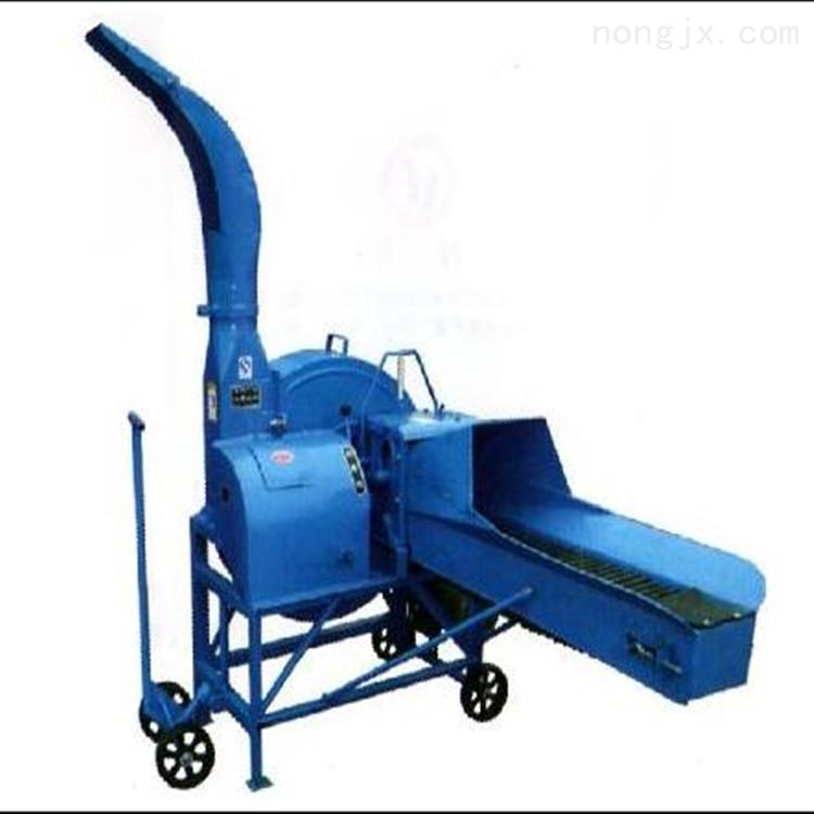 输送带4-5吨干湿两用秸秆铡草机