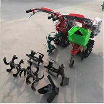 链辊式施肥播种机手扶山地犁地机