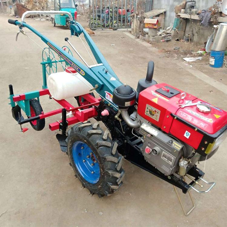 果园开沟施肥机 多功能手扶拖拉机