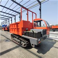 履带运输车生产基地工程建设8吨链条斗车