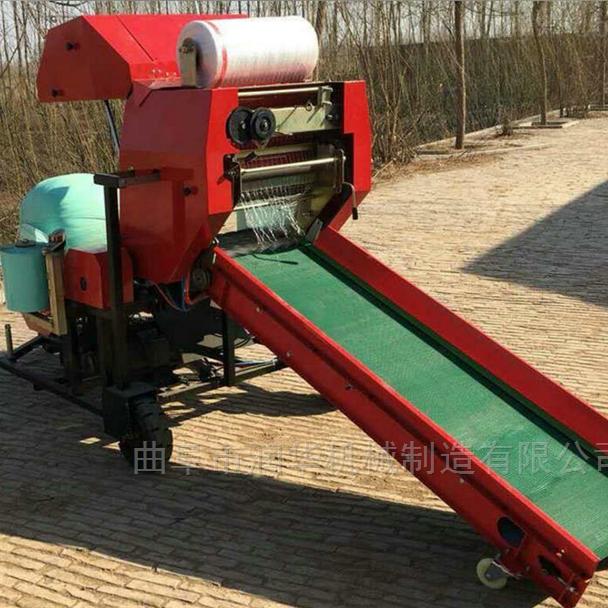 青贮玉米秸秆打捆机 自动化打包机价格