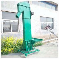 散粮塑料斗式提升机,玉米灌仓用垂直上料机