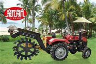 开沟施肥回填一体机拖拉机带果园专用开沟机
