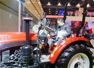 全国农机展:听说中国一拖展台很嗨很有创意