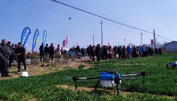 启飞助力莱州市农作物病虫害统防统治启动大会圆满举办