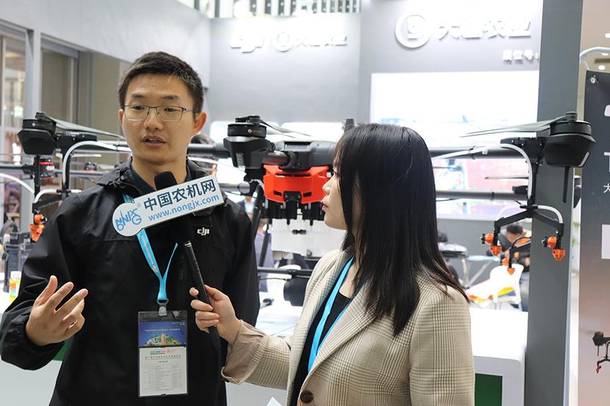 第十届江苏国际农机展:携手大疆 共建植保飞防生态