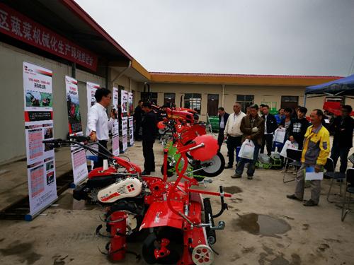 上海嘉定召开蔬菜机械化推进会 强化千赢国际城农艺融合