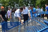 全國河蟹生産機械化觀摩交流會在江蘇召開
