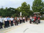 江蘇:全國首批在校大學生獲取農機駕駛證