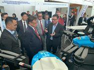 启飞A16植保无人机亮相马来西亚IDECS展会