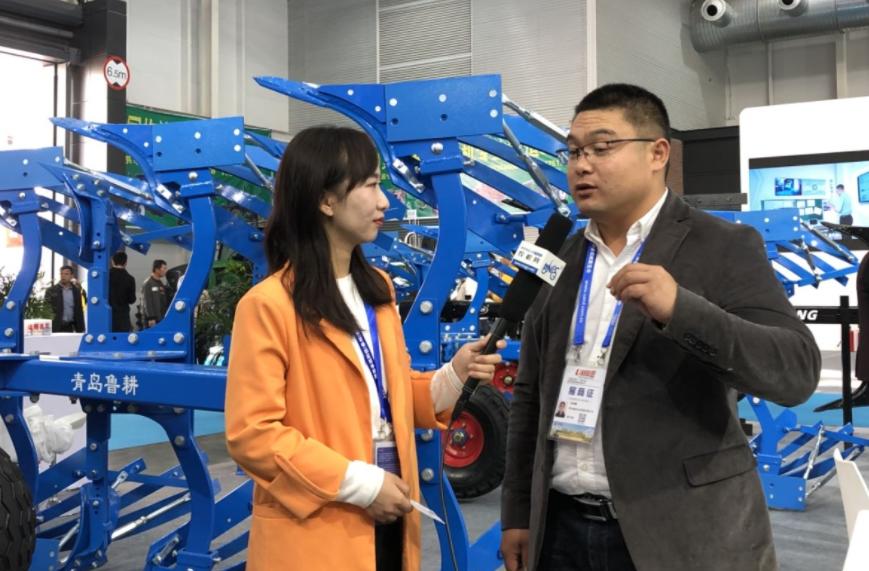 CIAME 2019:专访鲁耕农机销售总经理石晓腾