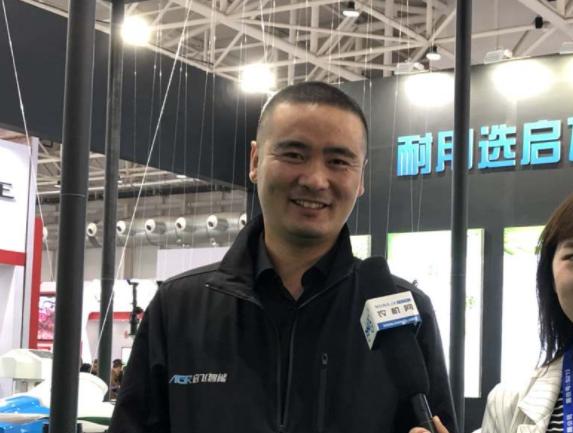 CIAME 2019:专访启飞智能市场总监任佳琦