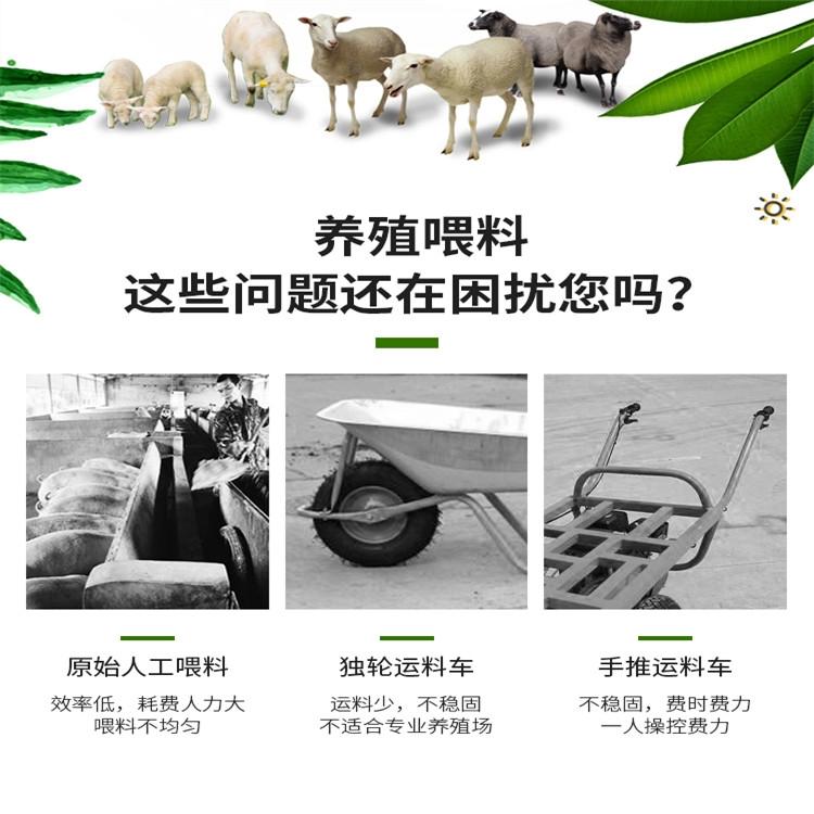 电动牛羊上料车图片