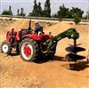 加粗螺旋的钻眼机 四轮车带果园挖坑机